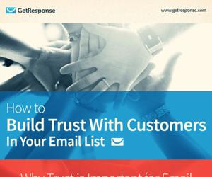 Infographic - Hoe vertrouw op te bouwen met klanten in uw e-maillijst