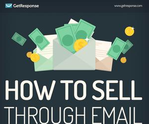 Infographic - Hoe te verkopen via e-mail