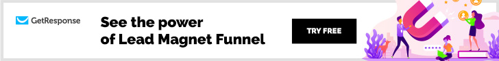 Get Response see the power of lead magnet funnel