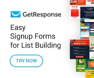GetResponse Free List Building Program